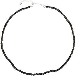 Black Spinel Strand, Necklace or Bracelet