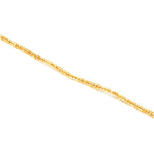 Genuine Citrine Strand, Necklace or Bracelet