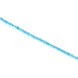 Swiss Blue Topaz Strand, Necklace or Bracelet