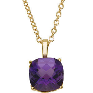Amethyst Necklace or Pendant