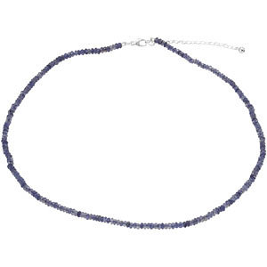 Iolite Strand, Necklace or Bracelet