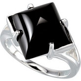 Genuine Onyx Ring