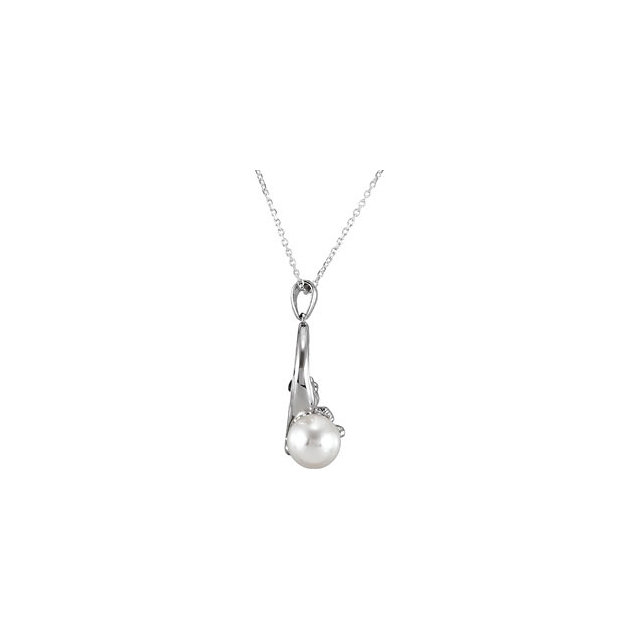 Solitaire Pendant for Pearl