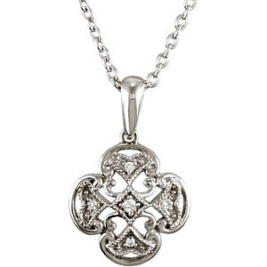 Diamond Accented Necklace