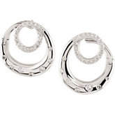3/8 ct tw Diamond Earrings
