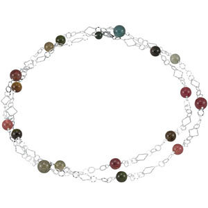 Genuine Tourmaline Necklace