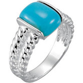 Genuine Chinese Turquoise Ring