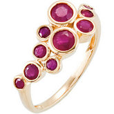 Genuine Madagascar Ruby Ring