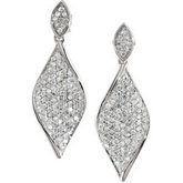 1 1/5 ct tw Diamond Earrings