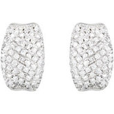 9/10 ct tw Diamond Earrings
