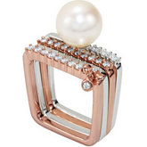 Square Shaped Stackable Ring