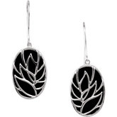 Genuine Onyx Earrings