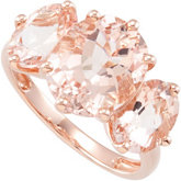 Genuine Morganite Ring