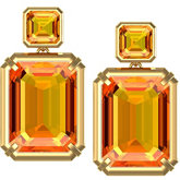Genuine Citrine Earrings