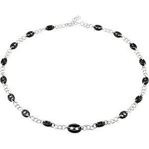 Onyx Marine Link Necklace