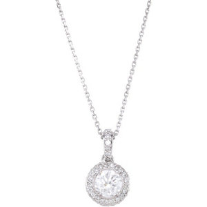 Gemstone or Diamond Entourage Necklace