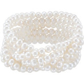Freshwater Cultured Pearl Stetch Bracelet