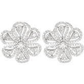 1 1/4 ct tw Diamond Earrings