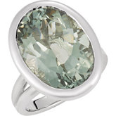 Genuine Quartz Ring