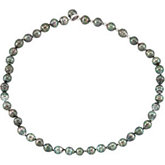 Tahitian Cultured Pearl Adjustable Necklace