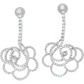 1 3/4 ct tw Diamond Earrings