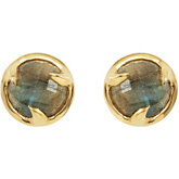 Missoma® Gemstone Stud Earrings