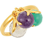 Missoma® Stackable Gemstone Rings