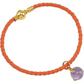 Missoma® Gemstone Rope Bracelet with Charm