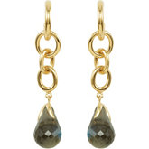 Missoma® Gemstone Drop Earrings