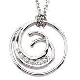 1/3 ct tw Diamond Journey Necklace
