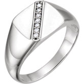 Men's Diamond Ring or Mounting