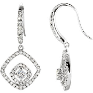 Diamond Earrings or Mountings