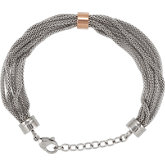 Amalfi™ Stainless Steel Mesh Bracelet with Immersion Plate