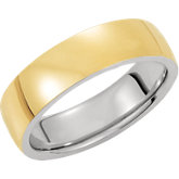 6mm Domed Wedding Band