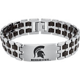 Michigan State Spartans Logo Bracelets