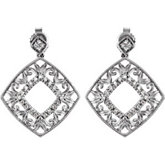 1/5 ct tw Diamond Earrings