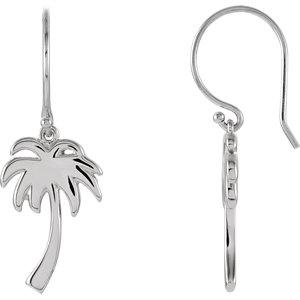 Petite Palm Tree Earrings