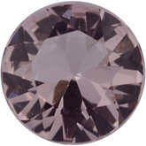 Round Genuine Morganite (Black Box)
