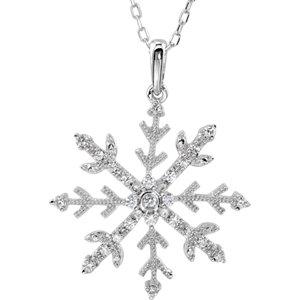 Snowflake Cubic Zirconia 18