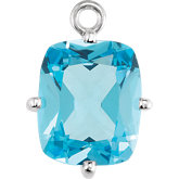 4-Prong Solitaire Dangle