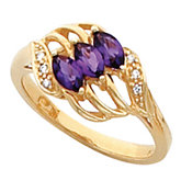 Marquise Shape Ring Mounting for Gemstone
