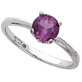 Scroll Setting® Design Ring Mounting for Round Gemstone Solitaire