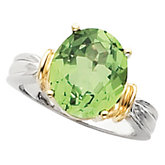 Ring for Oval Gemstone Solitaire