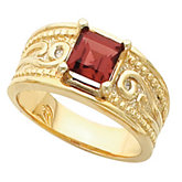 Etruscan-Inspired Solitaire Ring Mounting