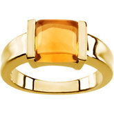 Ring Mounting Princess - Cut Gemstone