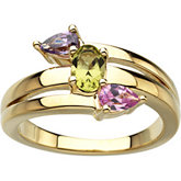 Multiple Shape Stones Ring Mounting for Gemstone