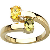 Ring Mounting for Oval Gemstones