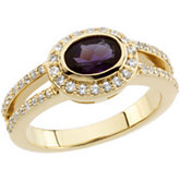 Vintage Style Ring Mounting for Gemstone