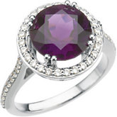 Ring Mounting for Round Shape Gemstone