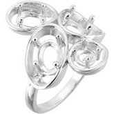 Ring Mountings for Gemstones